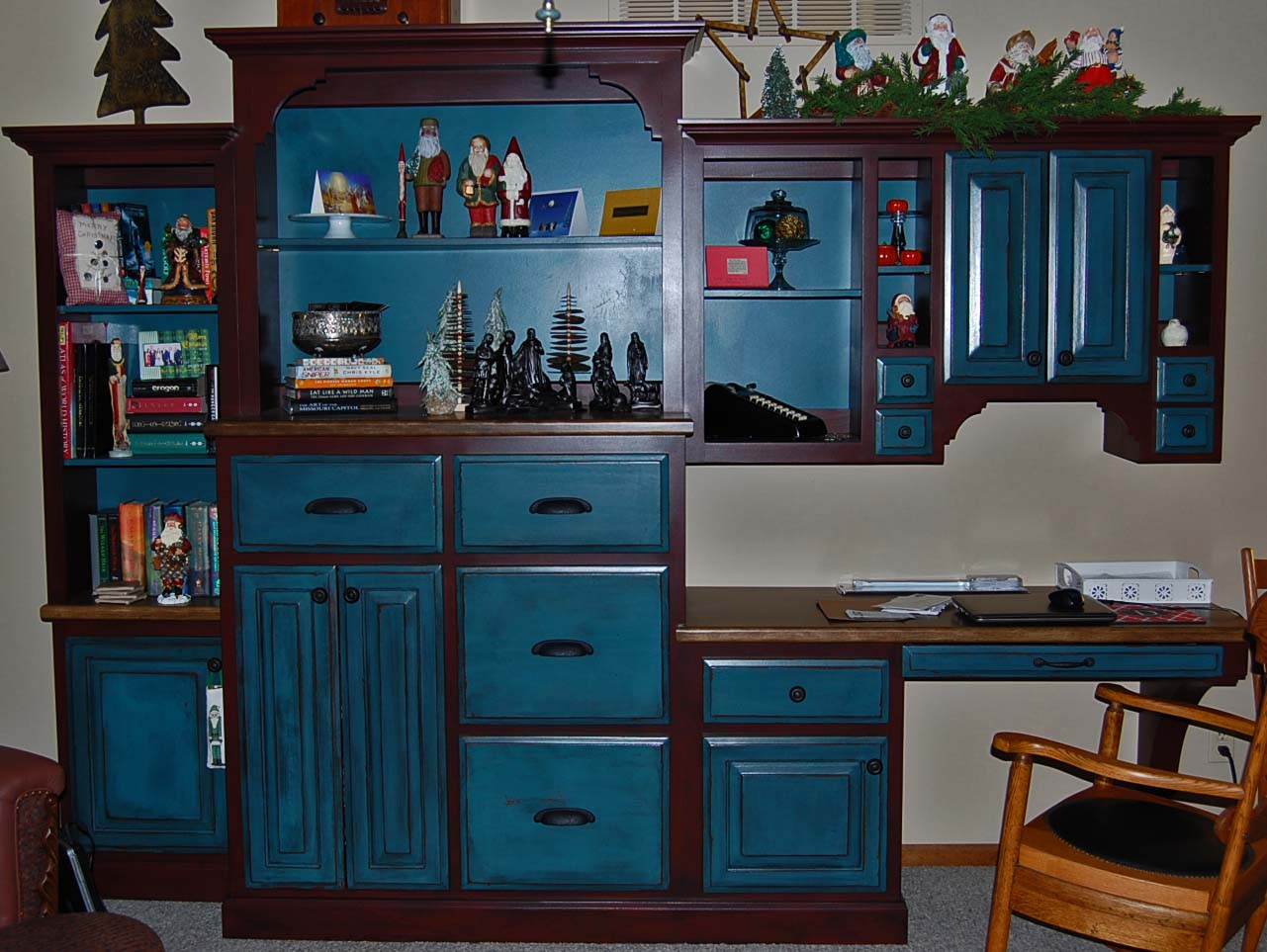 Davis Creative Painting Painted Distressed Cabinets