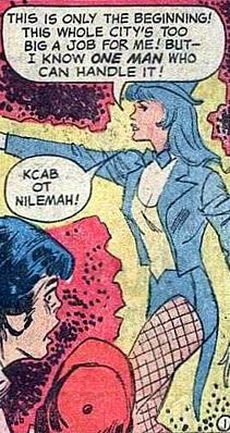 Supergirl #2, Zatanna does time travel