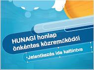 HUNAGI honlap - önkéntes közreműködési lehetőség