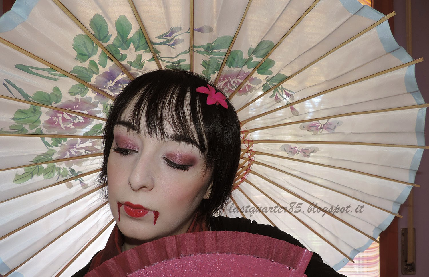 Make Up Halloween: geisha vampira!