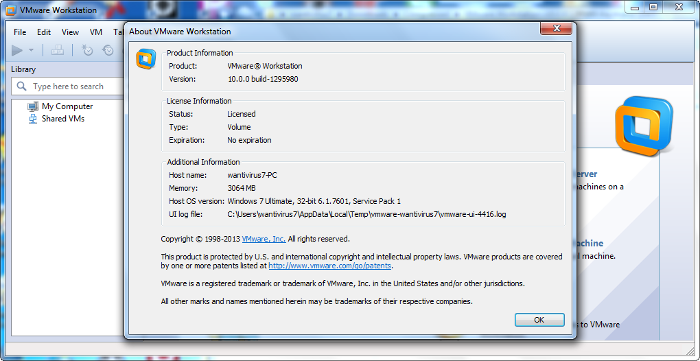 VMware Workstation 10.0 .0.1295980 Full Version - blog software gratis