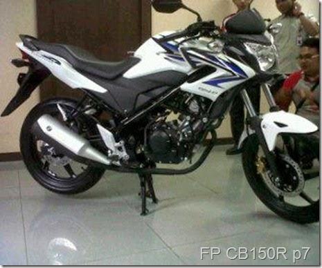 Kumpulan Modifikasi Honda CB150R Velg Jari-Jari 2014
