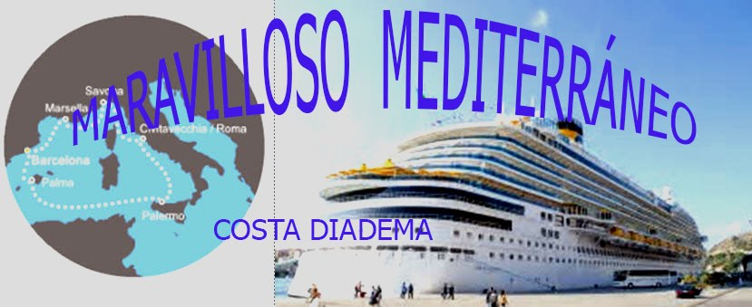 Crucero por el MEDITERRÁNEO