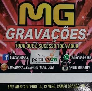 MG Gravações - Tudo que é sucesso toca aqui!