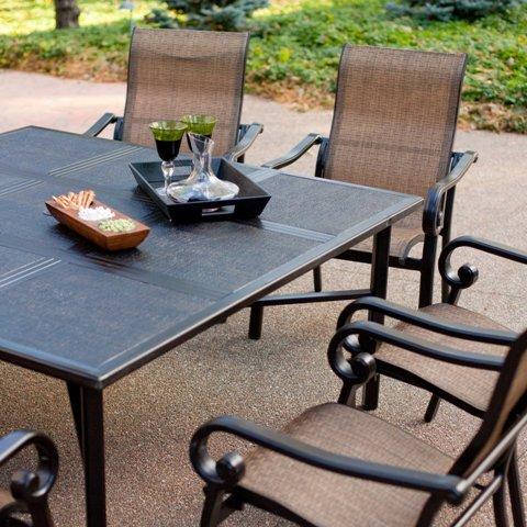 Modern living room furniture summer winds ashton square for Summer winds patio furniture