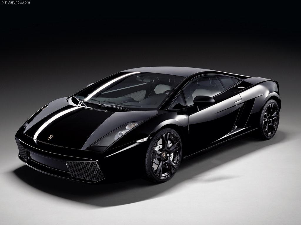 "Имението "" Au Nom de la Rose"" Lamborghini-Gallardo-2009-Black"