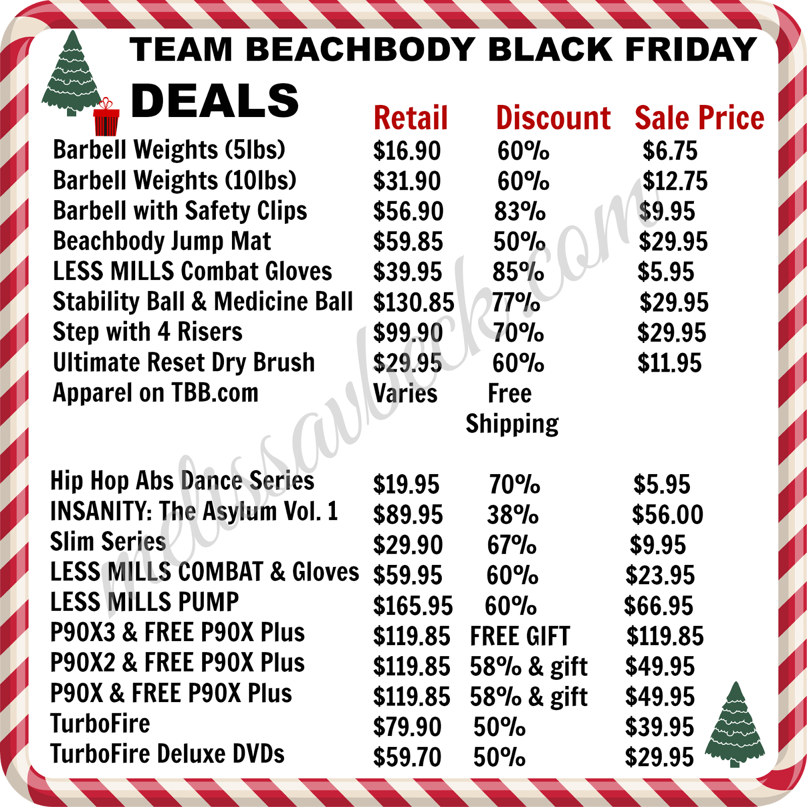 black friday, deals, beach body, P90x3, shaun t, insanity, turbo fire, weight loss, exercise, fitness, shakeology
