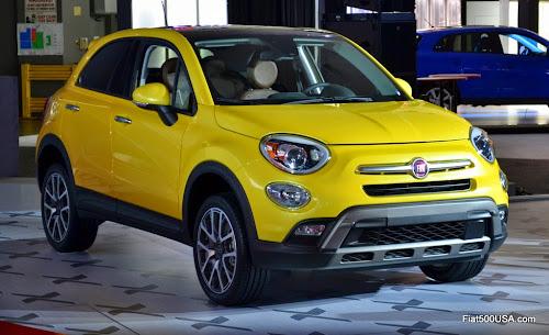 2016 Fiat 500 Trekking Plus