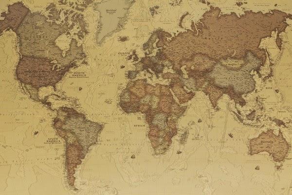 peta genetik orang amerika