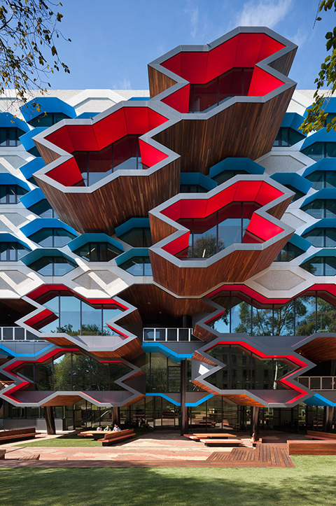 University Molecular Science Building in Australia