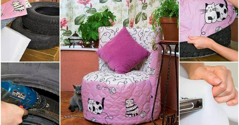 Astute Homestead Diy Old Tyre Couch