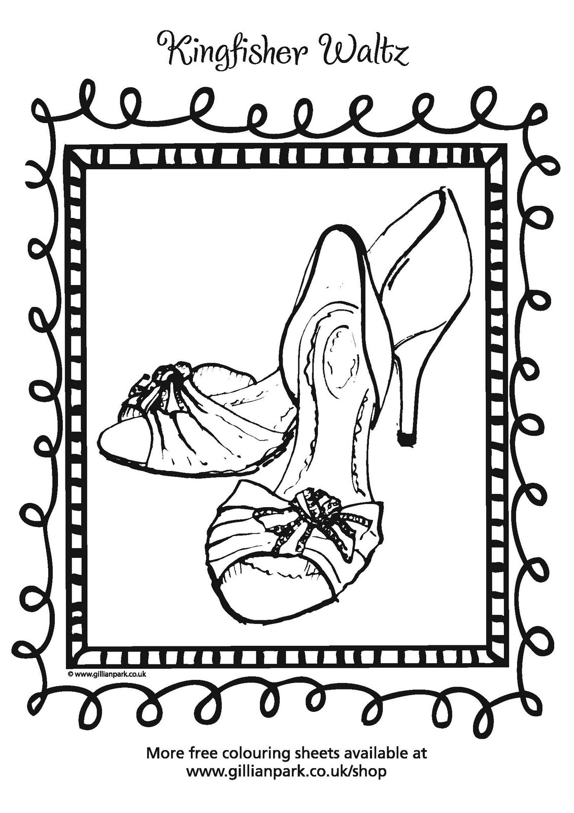 Co coloring book shop - Co Coloring Books Grow Up Free Colouring In Sheets For Your Mini Shoe Lovers