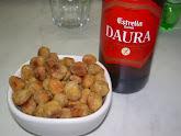 Snack croccante di ceci alla paprika