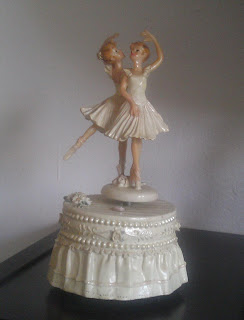 Meine Tänzerinnen-Spieluhr. nostalgisch angehauchte Dinge