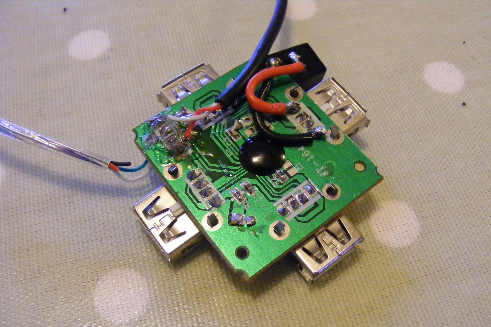 Raspberry Pi Power Supply And Powered Usb Hub For Pack Wiring Diagram