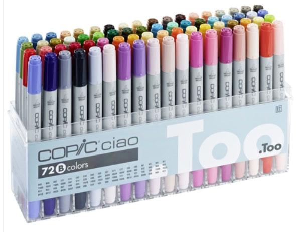 färgpennor för vuxna