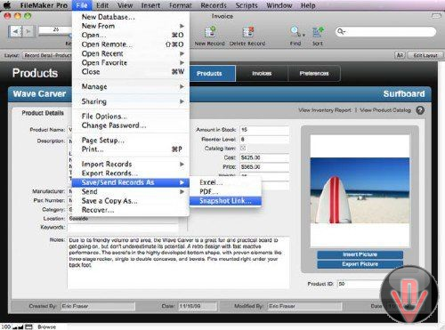 FileMaker Pro 11 Advanced v11.0.3.312