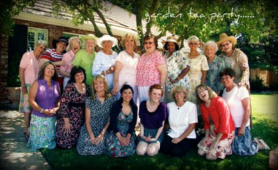 Kathy frank photography garden tea party wear your hats please for What to wear to a garden party
