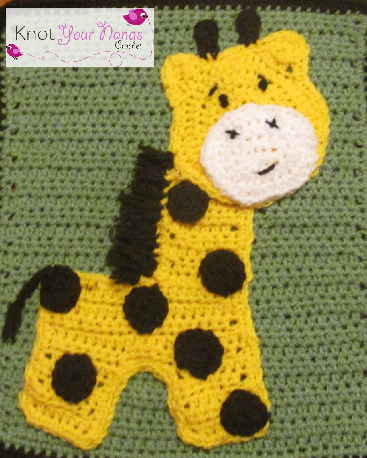 Crochet Safari Animals Free Patterns : Knot Your Nanas Crochet: Zoo Blanket