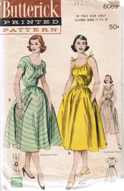 1950s sundress pattern Just Peachy, Darling