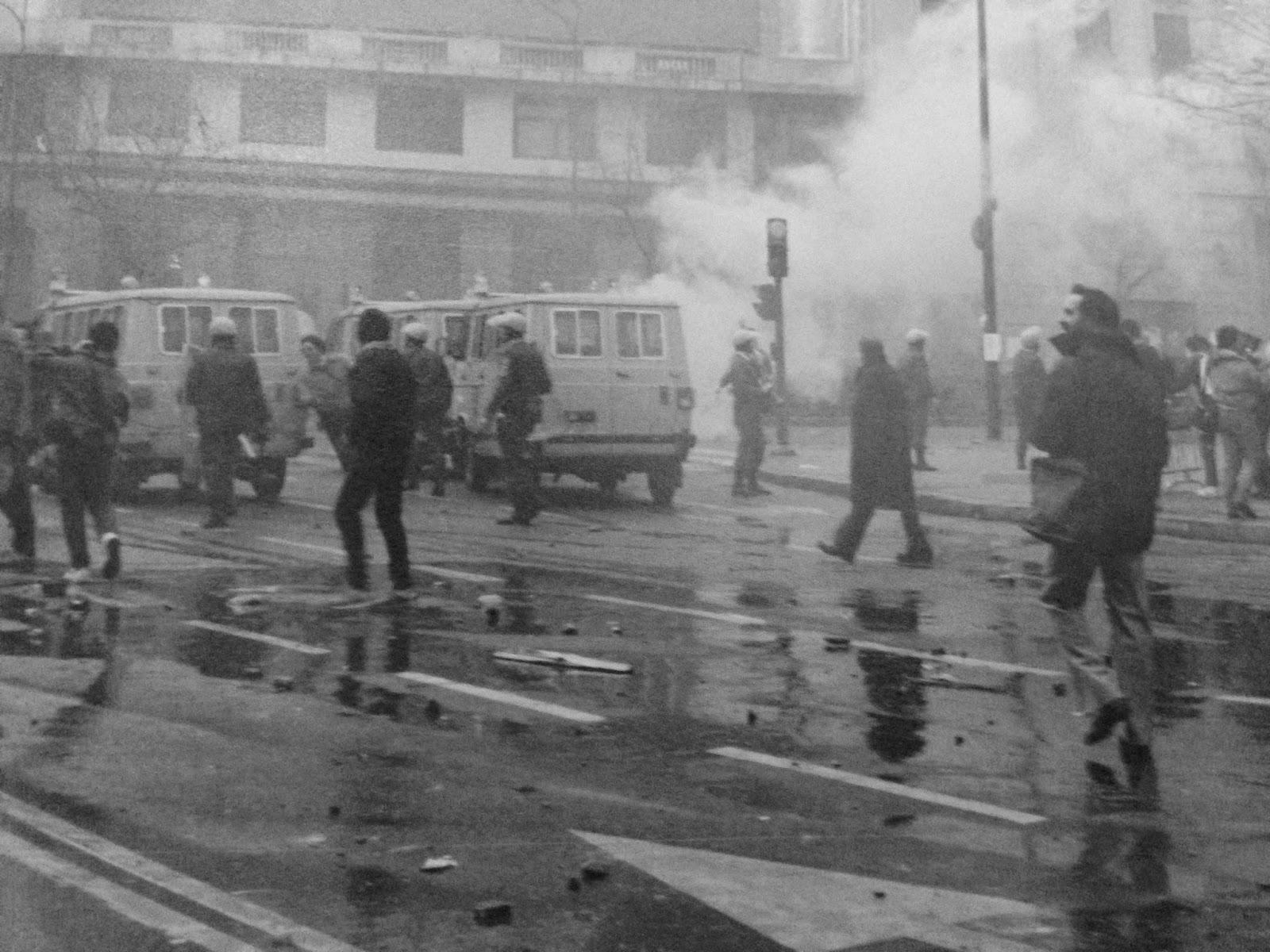 Resultado de imagen de manifestaciones en los setenta bilbao