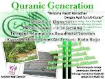 QURANIC GENERATION 2011
