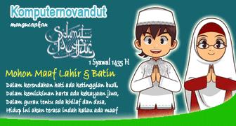 Selamat Idul Fitri 1 Syawal 1435 H