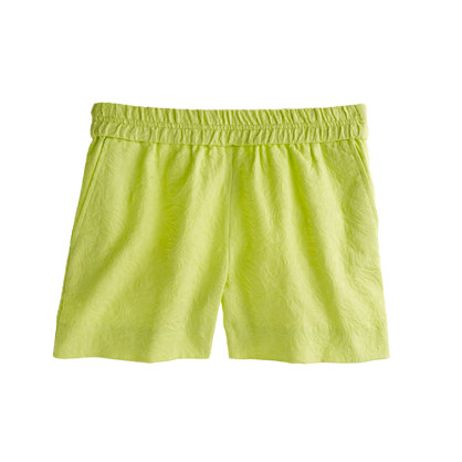 Pull-On Matelasse Short