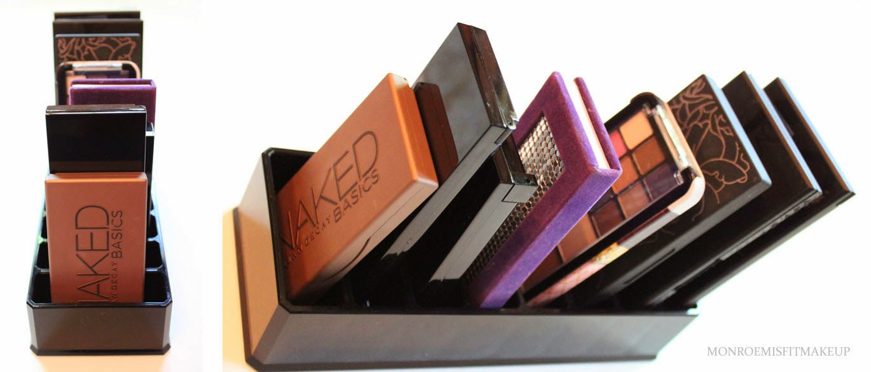 Makeup palette holder