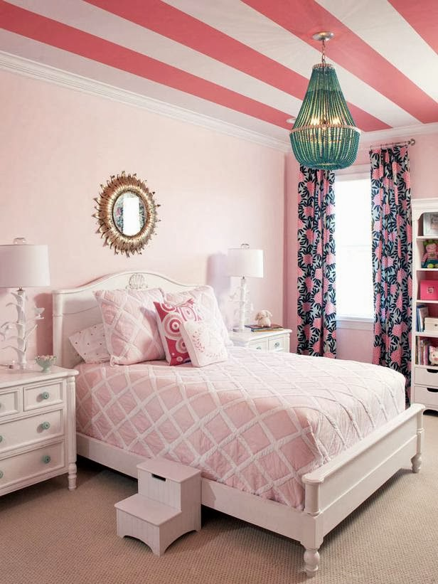 21 preciosas habitaciones para ni as de color rosa for Cuartos para ninas grandes color rosado