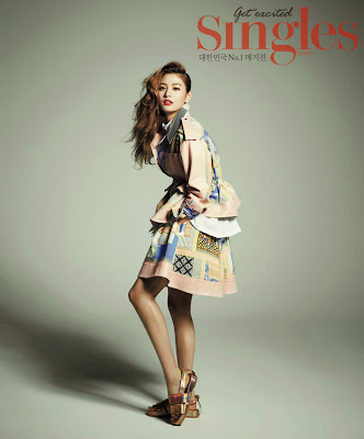 Nana After School and Lee Da Hee - Singles Magazine October Issue 2013