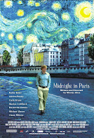 Midnight in Paris poster 2011