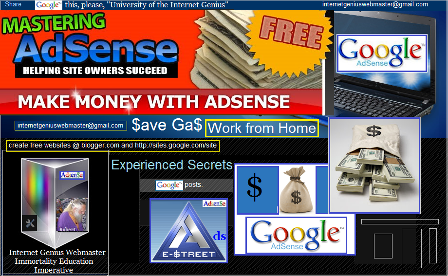 Google Adsense Ads for Income (Secrets)
