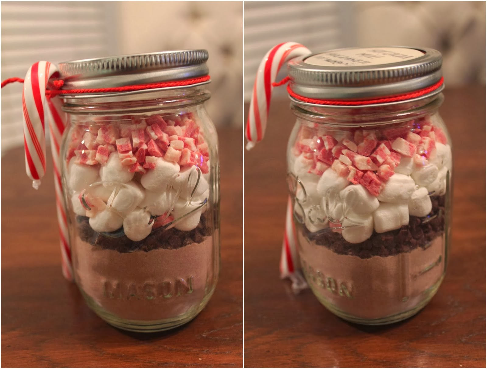 keep calm and carry on friendsgiving diy hot cocoa mix in a jar