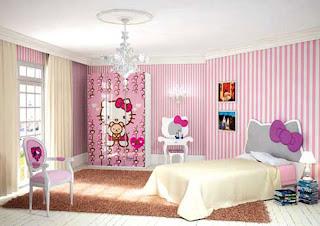 Quarto de Menina Hello Kitty