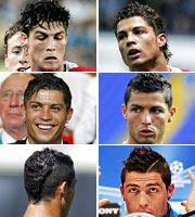 Así ha cambiado de 'look' Cristiano Ronaldo…