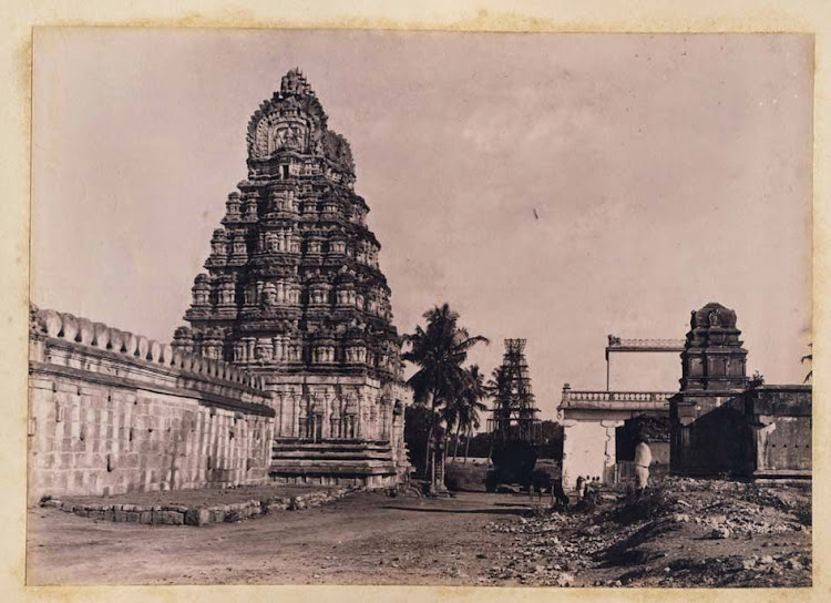 Temple in Srirangapatna, Karnataka -  1895