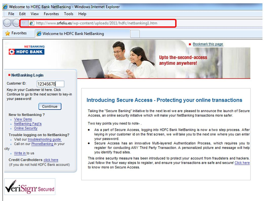 Hdfc forex online banking