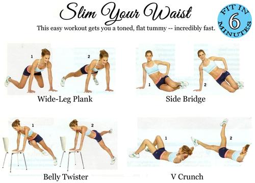 planking schema vrouwen