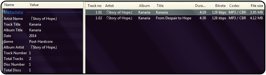 Story Of Hope   Discografía   J-Core   2013-2016