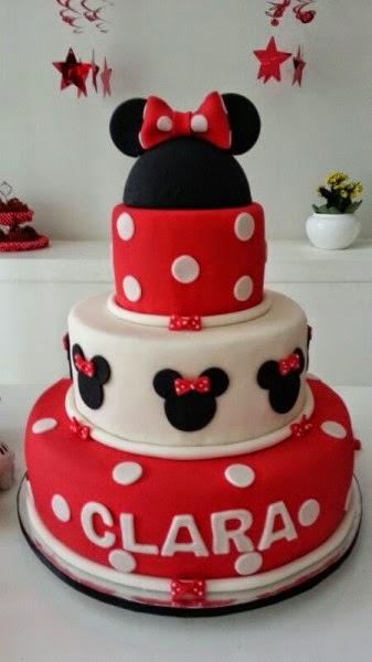Mãe de Princesa Ideias para festa tema Minnie (Cor Vermelha)