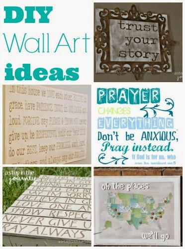 How to Make DIY Stained Wall Art