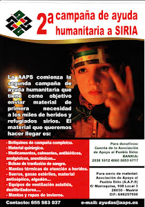 Campaa de ayuda humanitaria a Siria