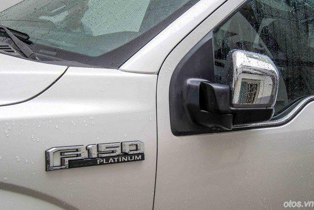 Ngắm thiết kế ngoại thất xe bán tải Ford F150 Platinum