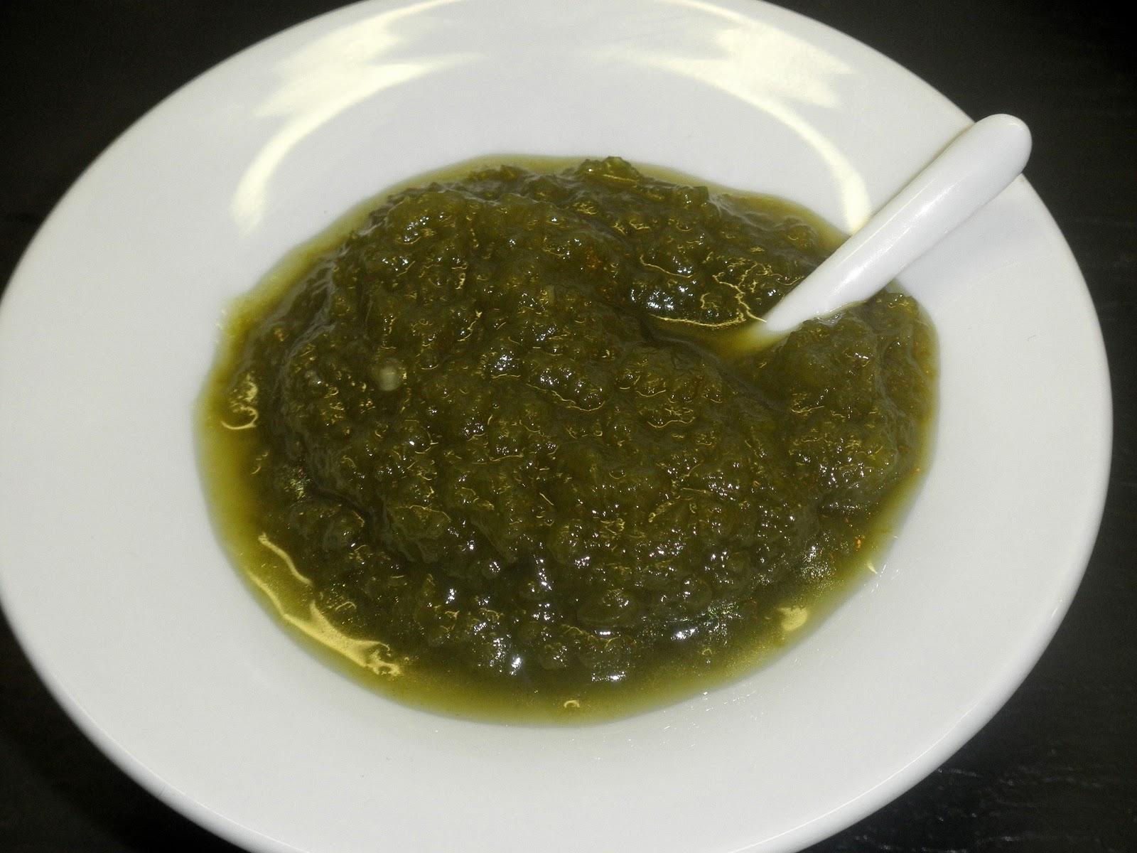 Cocina de nuestro tiempo mermelada de pimientos verdes - Como hacer mermelada de pimiento ...
