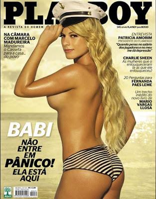 Capa da Playboy - Abril 2011 - Babi Rossi
