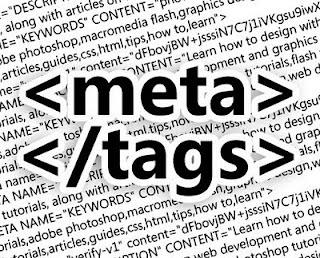 cara memasang meta tag otomatis pada setiap postingan