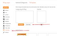 Cara  Membuat atau Memasang Tulisan Berjalan di Atas Menu Header di blogger