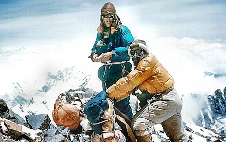 mount everest hillary and tenzing contrast High adventure is a rather humble retelling of the first successful summit of mount everest and the book will leave you with respect for hillary, tenzing, the 1953 everest team and high adventure lacks a personal element and tells the reader little about hillary himself in contrast.
