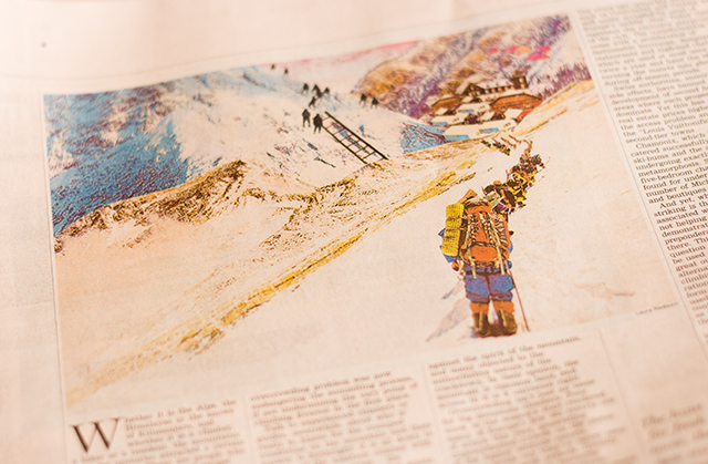 photo of financial times illustration by laura redburn